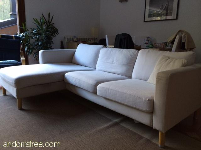 SOFA 3 PLACES AMB CHAISE LONGUE #1
