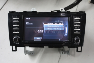 Navigation system for Nissan Serena C26 English menu and fixed radio f
