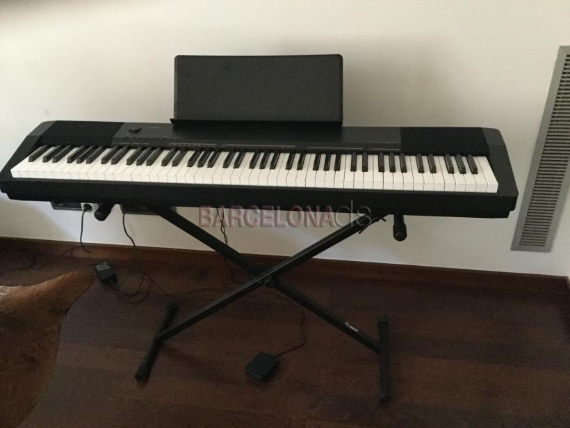 Casio cdp-130 with stand #1