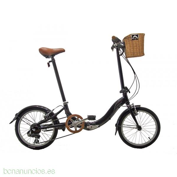 Bicicleta plegable Monty F17 Folding