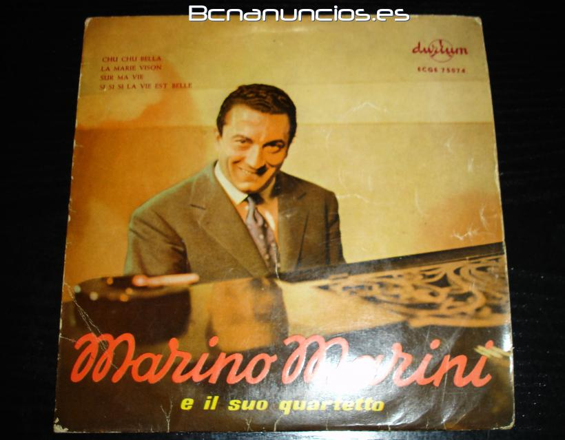 Marino Marini y su quarteto-single