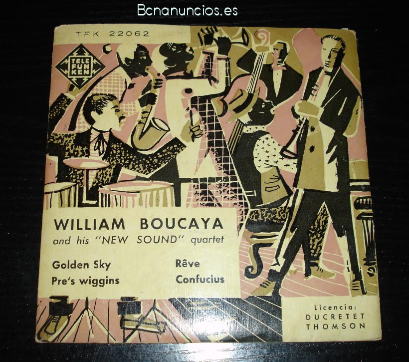 VILLIAM BOUCAYA     vinilo años 60