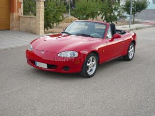 Mazda mx5 nb2, 110cv, 1.6cc, color rojo, año 2003