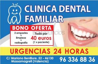 Clínica Dental Familiar Urgencias 24h Valencia