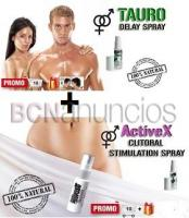 Pack Spray Retardante Eyaculacion + Spray Estimulante Orgasmo Mujer