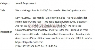 We are Hiring Simple Copy Paste Jobs monthly