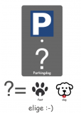 PLACAS PARKING PERROS