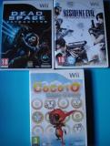 resident evil (darkside chronicles)+dead space(extraction)+cocoto