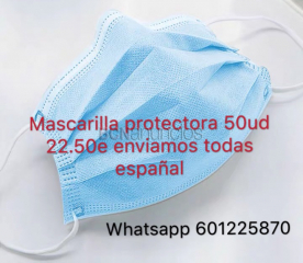Mascarilla de 3 capas disponible