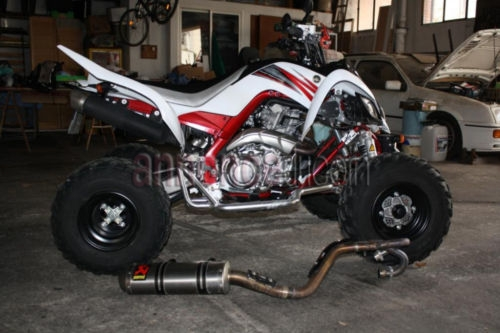 Quad raptor yfm 700  yamaha homologuer 2 places