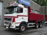 Volvo FH16 660 6x4 décharges Sörling 2007