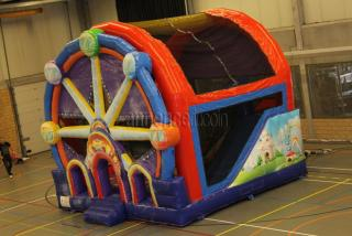 Le chateau gonflable mcj-attractions