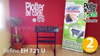 Plotter de corte Refine EH 721 con Artcut software 63 cm ancho de corte