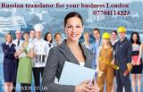 Russian translator London Central London, Mayfair, Westminster, City (Central London, Mayfair) All L