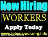HIRING Workers Urgently Part Time & Full Time All London