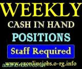 CASH Vacancies, Part/Time Staff Wanted (London, Grt London, UK) All London