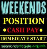 Weekend Pt & Ft Jobs, Immediate Start (London, Grt London, UK) All London