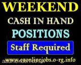 Weekend Part/Time CASH Jobs, Well Pay (London, Grt London, UK) All London