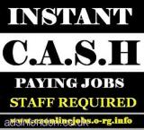 PART/Time Cash Vacancies, Weekly Pay (London, Grt London, UK) All London