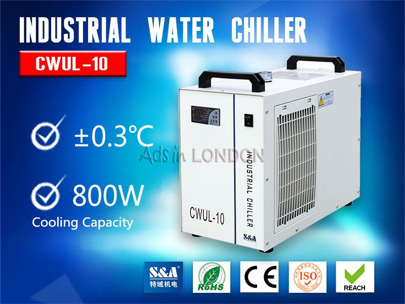 S&a water chiller unit cwul-10 for cooling 10w uv laser #1