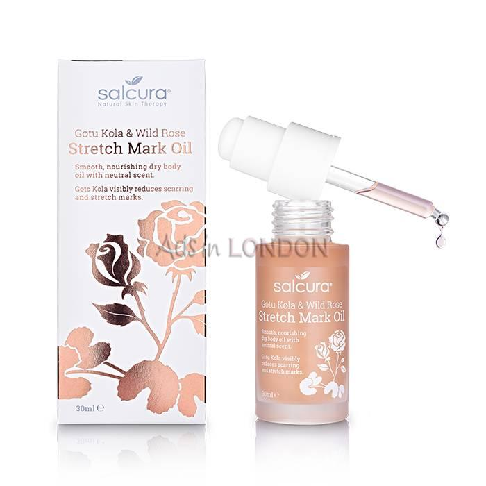 Buy Salcura Gotu Kola & Wild Rose Stretch Mark Oil Online