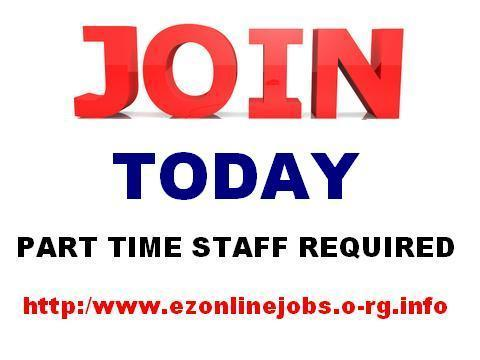 Full Or part time staff needed urgent.