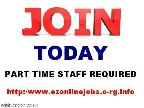 Staff required 4 immediate start today.