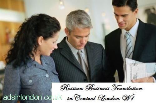 Russian business translator Mayfair, Westminster, Central London