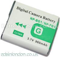 Sony np-bd1 battery for sale
