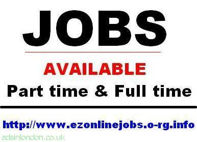 Part & Full Time Jobs Available, Immediate Start.