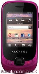 Alcatel OT-602 pink PAYG mobile phones - no contract new