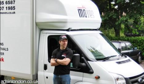 You are now in the hands of London's most professional moving team! #1