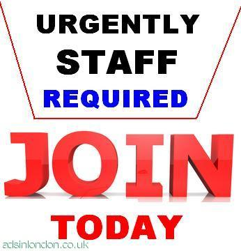 Urgently Full/Part Time Staff Required.