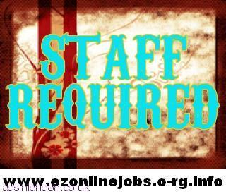 Urgently Full Or Part Time Staff Needed.