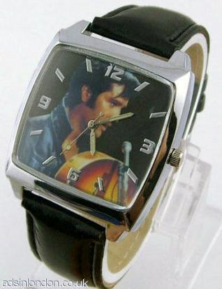 Elvis presley watch gift boxed