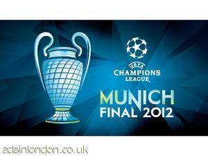 Buy Bayern Munich - Chelsea - Champions League Final 2012 Tickets  #1