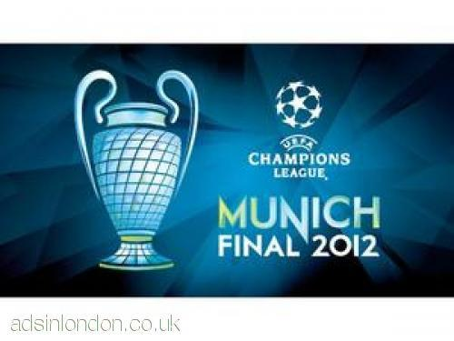 Champions League Final 2012 Munich 4 tickets Chelsea vs Bayern