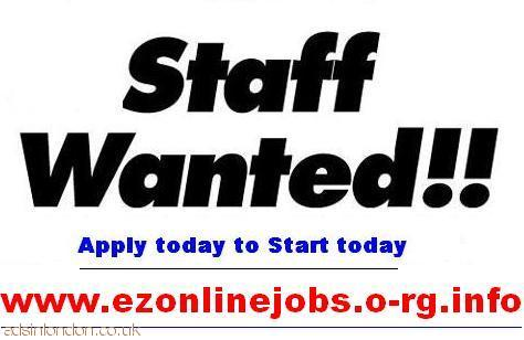 Part Time Staff Wanted Urgently.