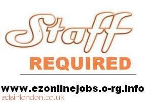 Part time staff required, Immediate start.