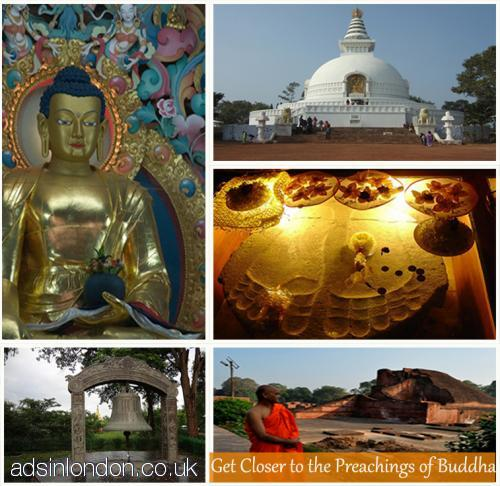 Get closer to the preachings of Lord Buddha