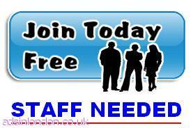 PT and FT Staff Required Urgently.