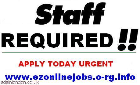 Urgent part time staff required today.