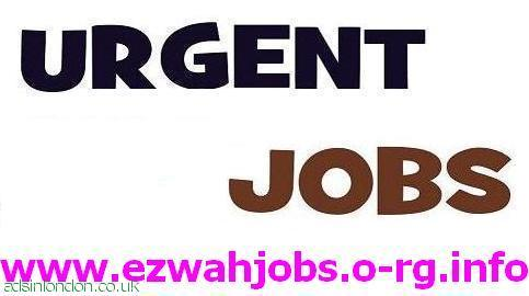 Urgently Staff Required 2 start today.