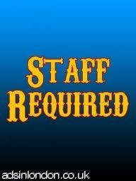 Urgent Job Offers (Staff Required Urgently)