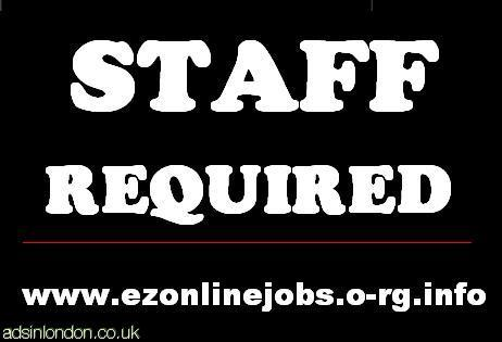 Staff Required (Full time - Part time)