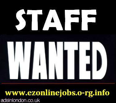 Staff Required To Start This Week.