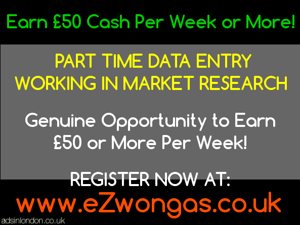 Part time data entry in market research. Start earning today.