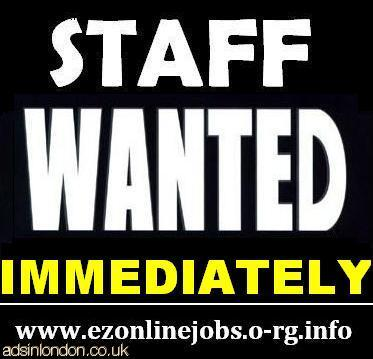 Part Time Staff Needed Immediately.