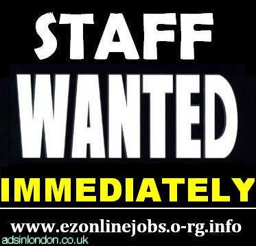 Part Time Staff Wanted Immediately.