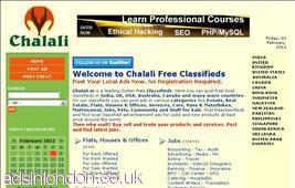 Advertise Free With Chalali
